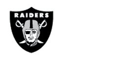 "raiders logo | m resort logo and text ""official team hq hotel"""